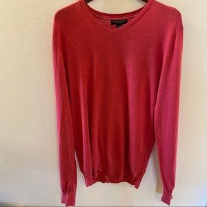 Lightweight coral sweater